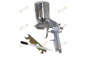 2.0 Gravity Feed Air Spray Gun Automotive Painting Tool Painter's Pneumatic Gun