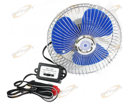 12 Volt Auto Cooling Ocillating Air Fan For Truck Car Boat 2/SP