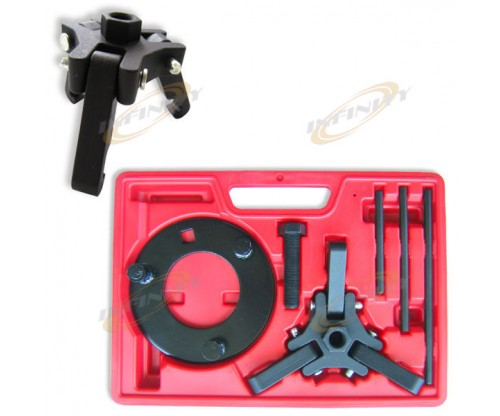 Automotive Harmonic Damper Balancer Puller & Holding Remover Installer 3 Jaws HD