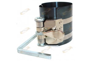 "Ratchet Style Piston Ring Compressor Fits 2-1/8"" - 7"" 53mm - 125mm Large Size"