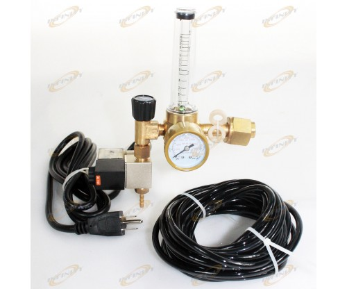 CO2 FLOW METER REGULATOR INJECTION RELEASE SYSTEM EMITTER SOLENOID CONTROLLER