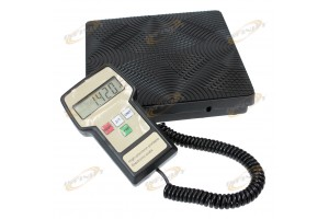 220lb Digital Electronic HVAC Refrigerant Charging Weighing Weight Scale w/ Case