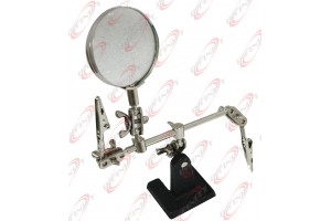 2x Optical Helping Hand Soldering Stand Magnifier Magnifying Jig Hands Free
