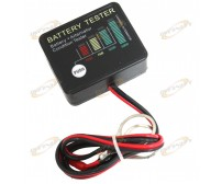 Alternator Load Tester &12 Volt Auto Onboard Battery With 18mm Posts 12V