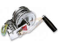 1200lbs STEEL CABLE HAND GEAR WINCH 4 BOAT ATV TRAILER