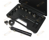 Heavy Duty 11pc Sharp Hollow Punch Set
