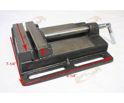 "5"" DRILL PRESS VISE / PIPE CLAMPING HOLDING CAST IRON VISE CHIVD5"