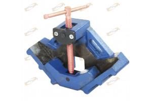 "2-1/2"" JAW WELDER WELDING MOLDING ANGLE CORNER CLAMP BENCH VISE"