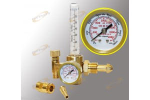 Argon CO2 Mig Tig Flow meter Regulator Welding Weld