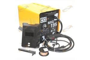 190AMP MIG 195 220V Flux Core Welding Machine Gas No Gas Welder Auto Wire Feed