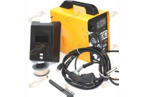 MIG 100 110V 90AMP Flux Wire WELDING MACHINE NO GAS WELDER w/Auto Feeding, Torch