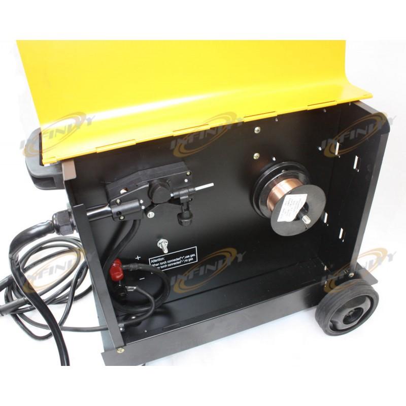 Flux Core Welding Wire >> 150AMP MIG 150 110V Flux Core Welding Machine Gas No Gas ...