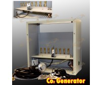 22,400 BTU Hydroponic 8 Burners LP Grow CO2 Generator Propane Gas Burner