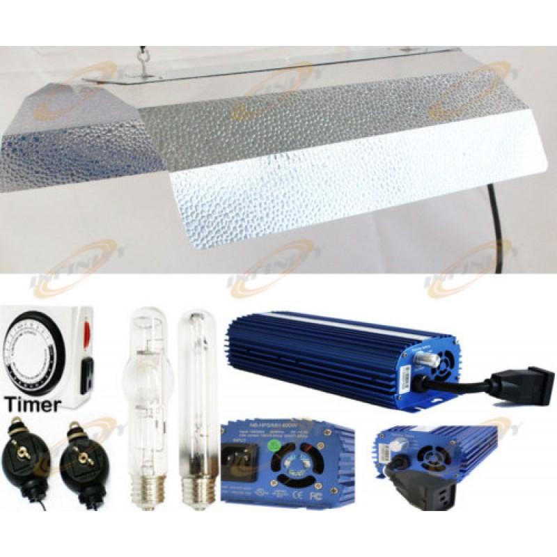 Dimmable 400w Digital Ballast Hps Mh Grow Light System