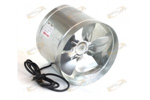 "10"" In-line Duct Fan 660cfm Duct Booster Inline Cool Air Blower Vent"