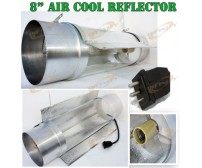 "8"" COOLTUBE AIR COOLED GROW LIGHT REFLECTOR COOL TUBE"