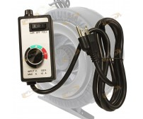 Variable Fan Speed Controller Hydroponic Inline Vortex Blower Exhaust Control
