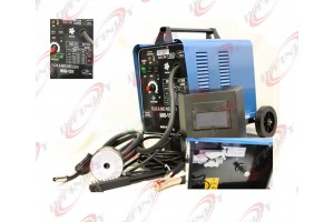 220V 151 CO2 GAS Flux MIG WELDER 120AMP GAS MAG WELDING MACHINE w/ Wheels