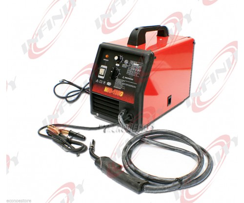 220V MIG 135 Flux Core Welder Dual Function Gas or No Gas Welding
