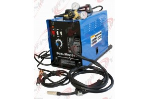 DUAL MIG WELDER 131 GAS / NO GAS 2 WAY WELDING MACHINE 110V AUTO WIRE FEED