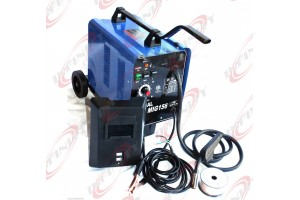 230V ETL Flux MIG WELDER 156 GAS WELDING MACHINE AUTO FEEDING WELD w/Wire