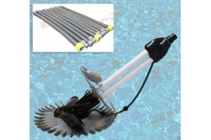 Inground Automatic Swimming Pool Vacuum Cleaner Hover Wall Climb w/33ft Hose
