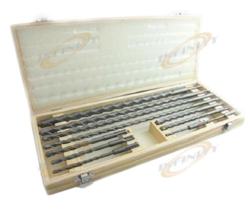 11PC 18in LONG SDS CONCRETE MASONRY DRILL BIT SET BITS