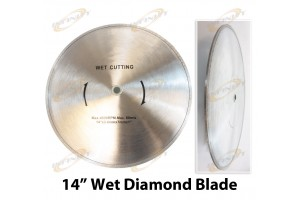 "14"" INCH WET DIAMOND CUT OFF SAW BLADE TOOL FOR STONE CONCRETE TILE"