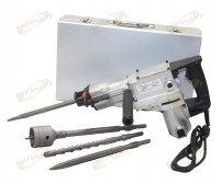 "850W 1-1/2"" SDS Metal Body Electric Rotary Hammer Drill & Demolition Mode 500BMP"