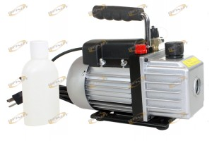 4.5CFM 1/3HP Rotary Vane Vacuum Pump w/ Oil Single Stage Gas HVAC AC R134a R410a