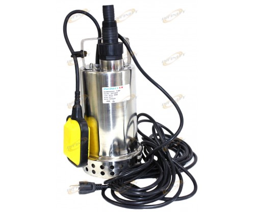 1-1/4 HP Stainless Submersible Pool Pond Drain Sub Water Pump 900W 57GPM PUMP