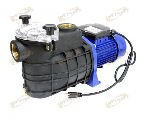 "110v 1.5HP 1.5"" NPT SWIMMING POOL SPA ELECTRIC WATER PUMP W/STRAINER"