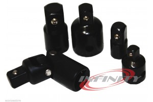 5PC Heavy Duty Impact Reducer Adapter Universal Set