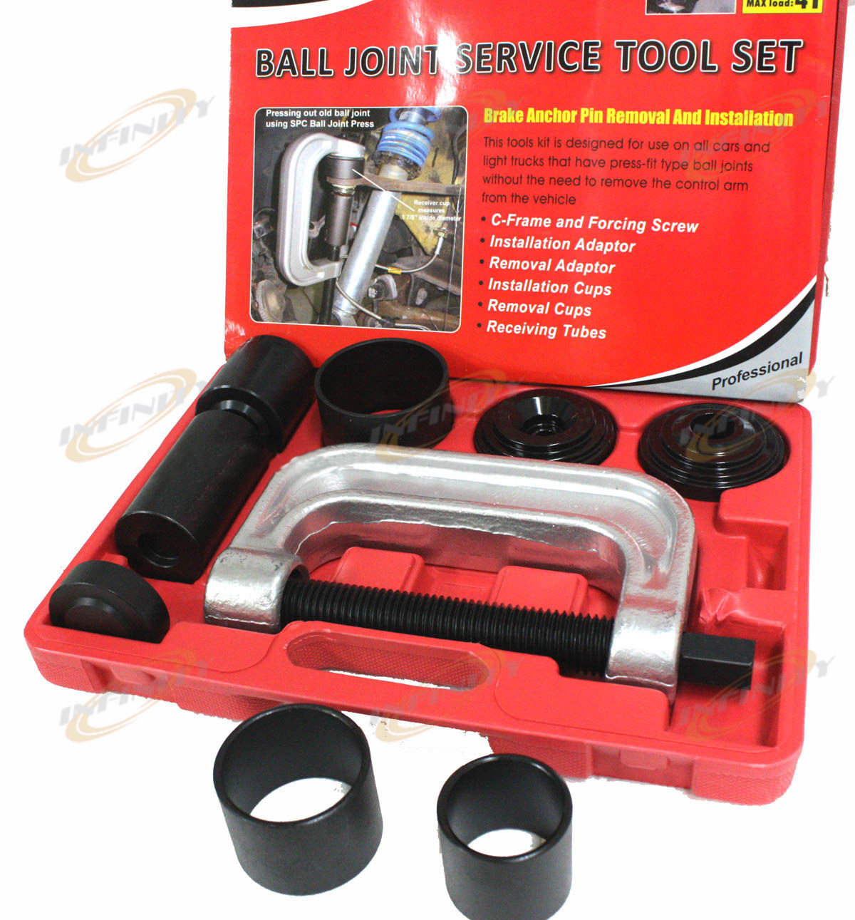 4 in 1 Ball Joint Service 2 & 4WD Auto Repair Brake Anchor