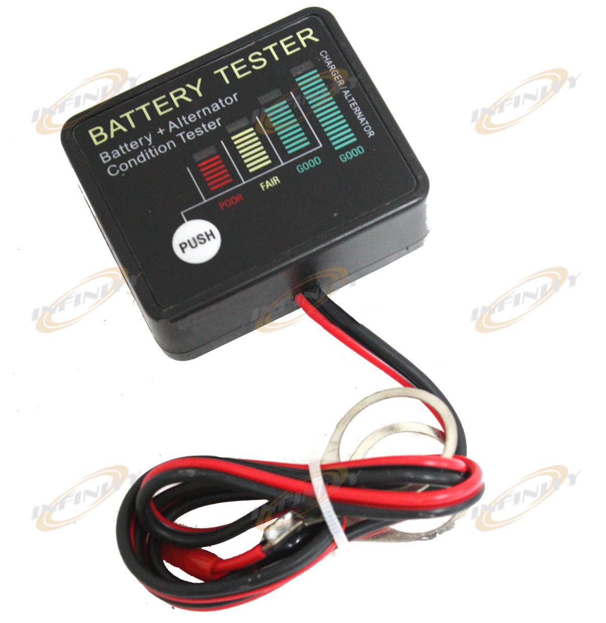 Standard Automotive Battery Load Tester : Alternator load tester volt auto onboard battery with